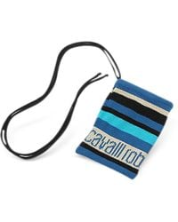 Roberto Cavalli - Blue Signature Cell Phone Holder - Lyst