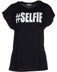 Frankie Morello T-Shirt black - Lyst