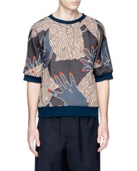 Paul Smith Cigarette Jacquard Double-Faced Sweatshirt multicolor - Lyst