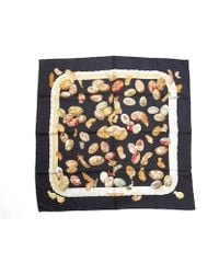 Hermes Pre-owned Couvee D Silk Scarf - Lyst