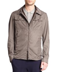 Moncler Tany Zip-front Jacket gray - Lyst