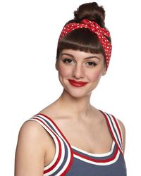 Ana Accessories Inc Through The Wire Headband in Red - Lyst