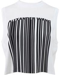 Alexander Wang | Barcode Logo Tank | Lyst