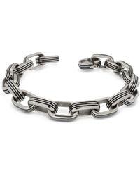 Zoppini - Zo-chain Stainless Steel Oval Link Bracelet - Lyst