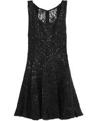 Alice + Olivia Ruri Sequinned Bouclã Dress - Lyst