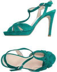Lorenzo Masiero Sandals - Green
