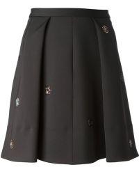 Sonia By Sonia Rykiel Aline Pleated Skirt - Lyst