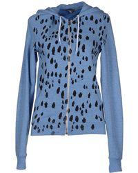 Simeon Farrar Hooded Sweatshirt - Blue