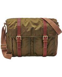 Fossil Estate Messenger Bag - Lyst