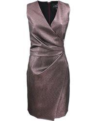 J. Mendel | V-neck Asymmetrical Dress | Lyst