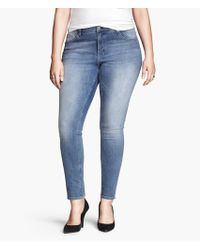 H&M Jeans Skinny Ankle - Lyst