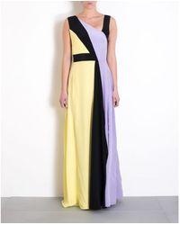 Marco Bologna Silk Long Dress - Lyst