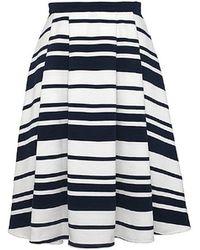 Olive & Oak - Sailors Take Warning Skirt - Lyst