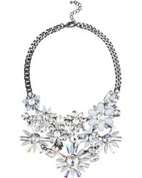 Coast Eve Floral Necklace - Lyst