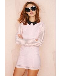 Nasty Gal Motel Gigi Dress - Lyst