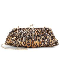 Saks Fifth Avenue Chloe Sequined Convertible Clutch - Lyst