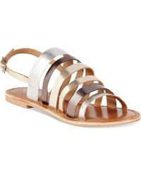 Charles By Charles David Vellum Sandals - Lyst