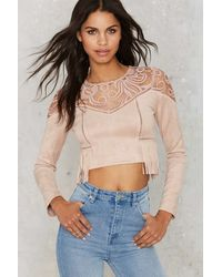 The Jetset Diaries | J.o.aSwayed By Lace Crop Top | Lyst