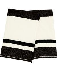 Isabel Marant Adelaide Woolblend Wrap Mini Skirt - Lyst