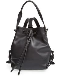 Opening Ceremony 'Mini Izzy' Convertible Leather Backpack - Lyst