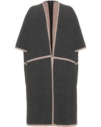 81hours - Reversible Merino Wool Cape - Lyst