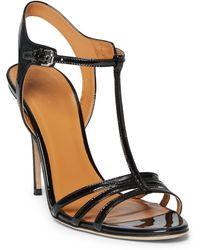 Polo Ralph Lauren Patent Leather Sandal - Black
