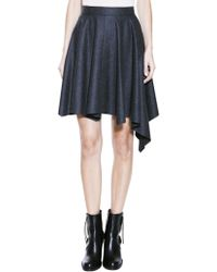 Dagmar Ally Flannel Skirt - Lyst