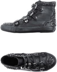 Ash Azimut Wedge Sneaker black - Lyst