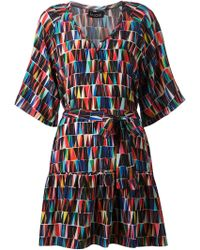 Saloni 'Annie' Dress multicolor - Lyst