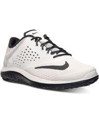 Nike Men'S Fs Lite Run 2 Running Sneakers From Finish Line - Black