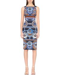 Peter Pilotto | Kia Abstract-print Crepe Dress | Lyst