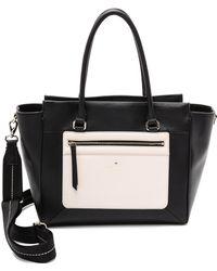 Kate Spade Sunset Court Hattie Bag - Black/Pebble - Lyst