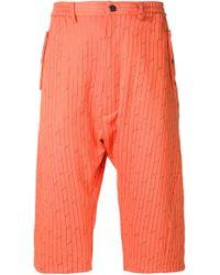 Vivienne Westwood - Samurai Textured Shorts - Lyst