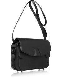 Alexander Wang Trifold Stingrayeffect Leather Shoulder Bag - Black
