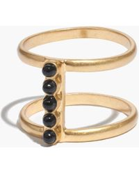 Madewell Stonespan Ring - Lyst