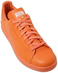 Adidas By Raf Simons Stan Smith Leather Sneakers - Lyst