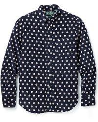 Gitman Brothers Vintage Daisy Corduroy Shirt - Lyst