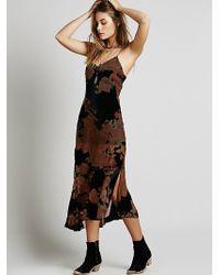 Free People Evangelista Midi Dress - Lyst