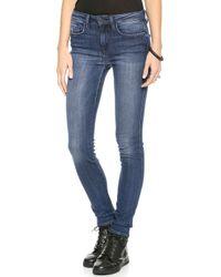 Genetic Los Angeles Slim High Rise Skinny Jean Adolescent - Lyst