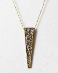 """House Of Harlow 1960 1960 Kinetic Pendant Necklace, 20"""" - Lyst"""