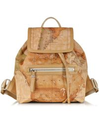 Alviero Martini 1A Classe - Everyday Geo Classic Soft Backpack - Lyst