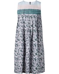 Suno Pleated Dress - Lyst