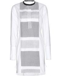 Edun Printed Cotton Tunic white - Lyst
