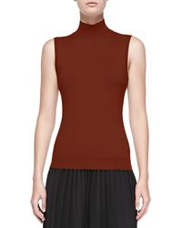 Theory Cashmere Staple Mockneck Sweater - Lyst