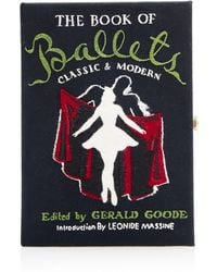 Olympia Le-Tan The Book Of Ballets Clutch - Lyst