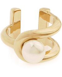 Jason Wu - Gold-plated Pearly Ring - Lyst