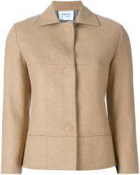 Akris - Fitted Wool-Blend Jacket - Lyst