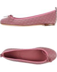 Gucci Ballet Flats - Lyst