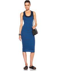 Enza Costa Doubled Tank Dress - Lyst