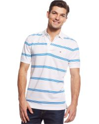 Tommy Hilfiger Albie Striped Classic-Fit Polo - Lyst